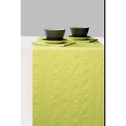 Asztalifutó papír 33x600cm - Elegance light green