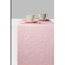 Asztalifutó papír 33x600cm - Elegance Pearl Pink