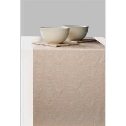 Asztalifutó papír 33x600cm - Elegance Pearl brown