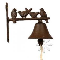 Öntöttvas fali kolomp - madarak