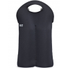 Boros táska 2 üveges neoprén, 25,9x39,6cm, fekete,Built