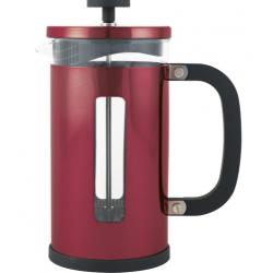 Kávé,- és teafőző, üveg belsővel,rozsdamentes, 350ml-3csészés, króm, La Cafetiére
