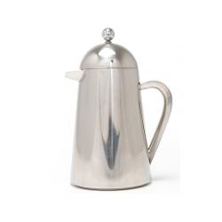 Rozsdamentes acél kávé és teakészítő kanna,350ml,ezüst, La Cafetiére