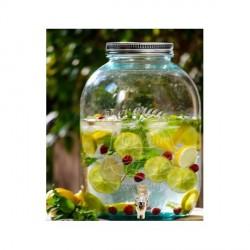Limonádés csapos üveg - 12,5 literes