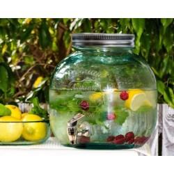 Limonádés csapos üveg - 6 literes