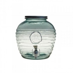 Limonádés csapos üveg - 8 literes