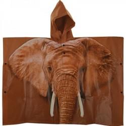 Gyermek Esőkabát/Poncho - Afrikai Elefántos