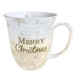 Porcelán bögre 0,4l - Merry Christmas
