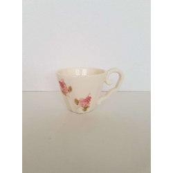 Kerámia kávéscsésze - Vanilia Kerámia/Violin apró rózsás