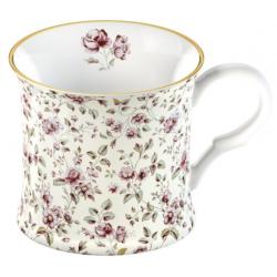 Porcelán bögre 2,3dl - fehér, virágos -  Ditsy Floral