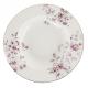 Porcelán mélytányér fehér, virágos 23,5cm - Ditsy Floral
