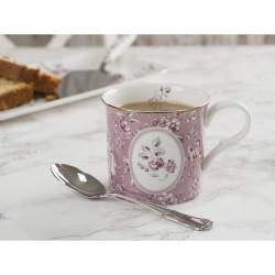 Porcelán bögre 2,3dl - pink, virágos -  Ditsy Floral