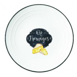 Porcelán lapos tányér 21,5cm, Kitchen Basics