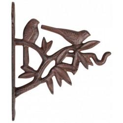Öntöttvas fali akasztó - madaras