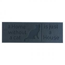 Lábtörlő hosszúkás, macskás  75 x 25 cm