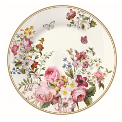 Porcelán Desszerttányér 19cm díszdobozban, Blooming Opulence