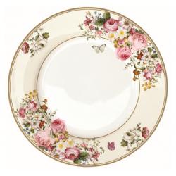 Porcelán lapos tányér 27cm díszdobozban, Blooming Opulence