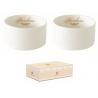 Porcelán tálka szett 2db-os 8,5cm,dobozban,Maison Chic