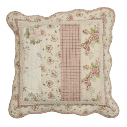 Steppelt apró virágos - textil párnahuzat 40x40cm