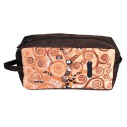 Kozmetikai táska 25x12x8cm,Klimt:Életfa