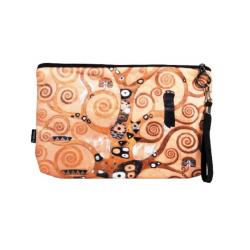 Kozmetikai táska 25x3x17cm,Klimt:Életfa