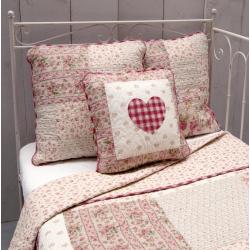 Patchwork ágytakaró - Apró rózsás (180x260 cm)