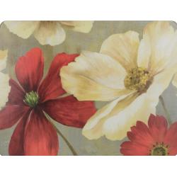 Parafa tányéralátét 4db-os 40x29cm, Flower Study