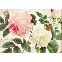 Parafa tányéralátét 4db-os 40x29cm, Rose Garden