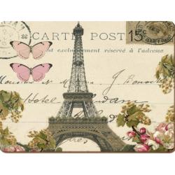 Parafa tányéralátét 2db-os 40x29cm, Paris Postcard
