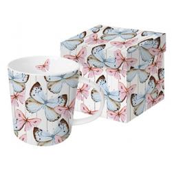 Porcelán bögre 0,35l dobozban, Butterfly Dream