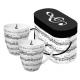Porcelán bögre 0,35l dobozban 2db-os, Adagio