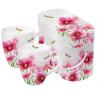 Porcelán bögre 0,35l dobozban 2db-os, Flowers & Dragonfly