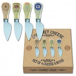 Kerámia nyelű sajtkés szett 4db-os (130mm),Gourmet Cheese