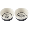 Kerámia tálka szett 2db-os, 90x40mm, Gourmet Cheese