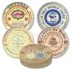 Porcelán sajttányér szett 4db-os,19,3cm,Gourmet Cheese