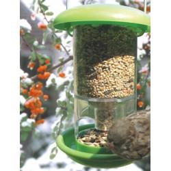 Felakasztható műanyag önetetős madáretető