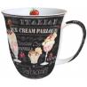 Porcelán bögre 0,4l - Ice cream
