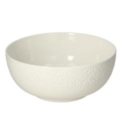 Porcelán salátás tál 23cm, Moon Bianca