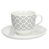 Porcelán teáscsésze+alj 190ml, Prima Enigma