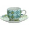 Porcelán kávéscsésze+alj 100ml, Sfera Lolita