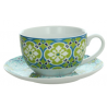 Porcelán teáscsésze+alj 300ml, Sfera Lolita