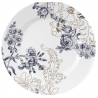 Porcelán desszerttányér 205mm, V&A:Palmer's Silk