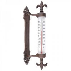 Öntöttvas fali hőmérő - Liliom