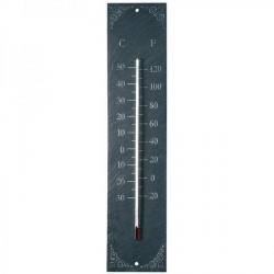 Hőmérő palatáblán - szürke