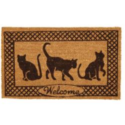 Lábtörlő 45x75cm, macskás