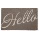 Lábtörlő 75x45cm, Hello