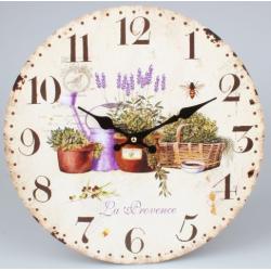 Fa fali óra, Provence, 34cm átmérő