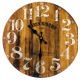Fa fali óra, Paris Bistro, 34cm átmérő