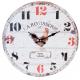 Fa fali óra, kakasos, 34cm átmérő