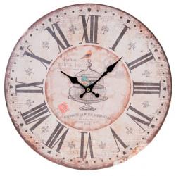 Fa fali óra, Madárkalitkás, 34cm átmérő